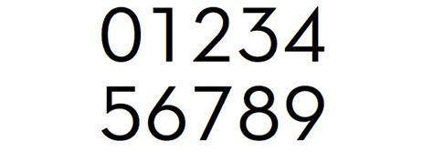 0007395205 number the stars essential modern modern number font