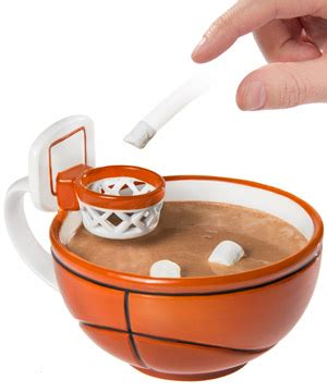 Mug Basket Usa the basketball mug handcrafted ceramic mug with a hoop