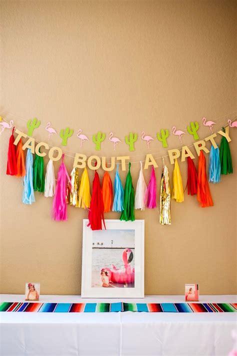 Home Decor Mexican Party Theme Decorations Design Ideas Luxury | kara s party ideas cactus flamingo first birthday fiesta