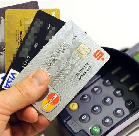 kreditkarte pin oder unterschrift kartenzahlung das passiert wenn das girokonto nicht