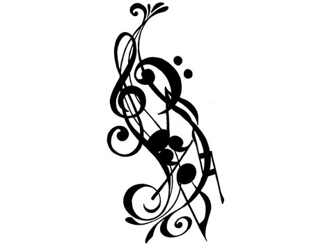 music related tattoo designs free designs clipart best