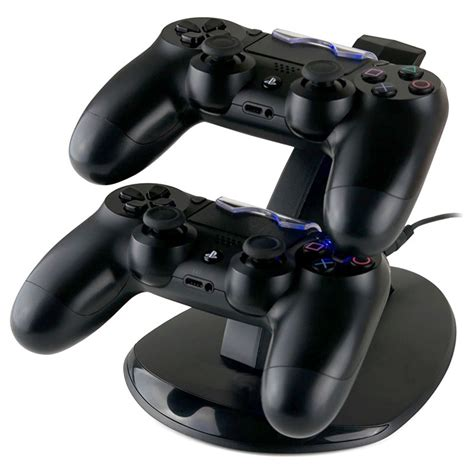 2 In 1 Charging Dock Stik Ps3 great playstation 4 dual controller charging station