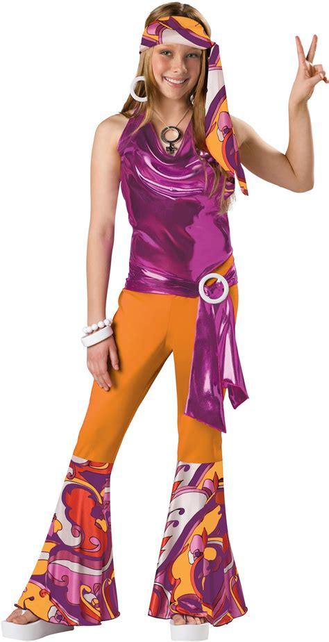 costumes kids costumes kids disco hippie costumes new 2014 costumes kids teen tween girls 60s 70s disco mod dance costume s ebay