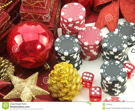 christmas casino background stock image image 17235057