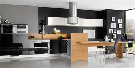 cool design ideas of best kitchen with white and blue black and white kitchen designs from mobalpa