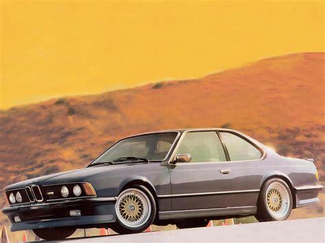 1988 bmw m6 series bmw m6 e24 1986 1988 bmw m6 e24 1986 1988 photo 01 car