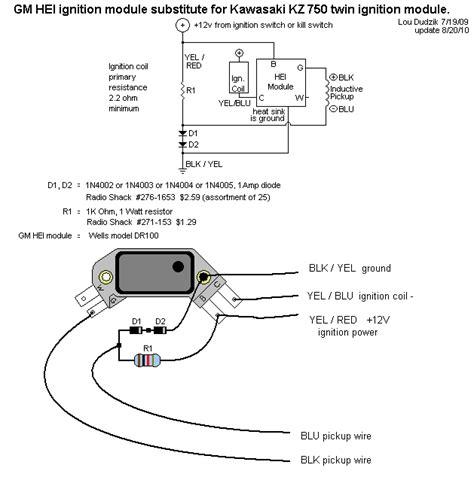 4 pin hei ignition module wiring diagram wiring diagram