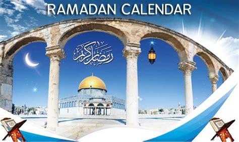 riyadh ramadan calendar