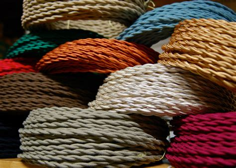 antique cable wire covers 25 cotton cloth covered twisted electrical wire vintage l cord antique fans ebay