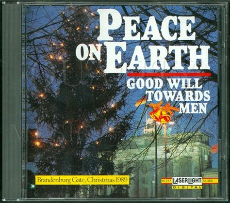 peace on earth will to dogs books peace on earth will towards audio cd by various