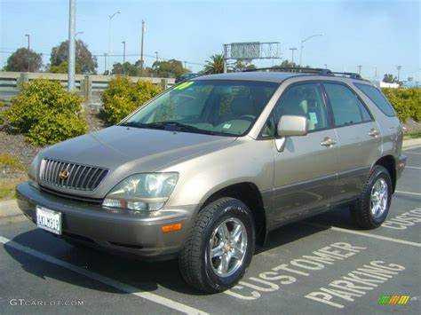 gold lexus rx 2000 burnished gold metallic lexus rx 300 awd 27498925