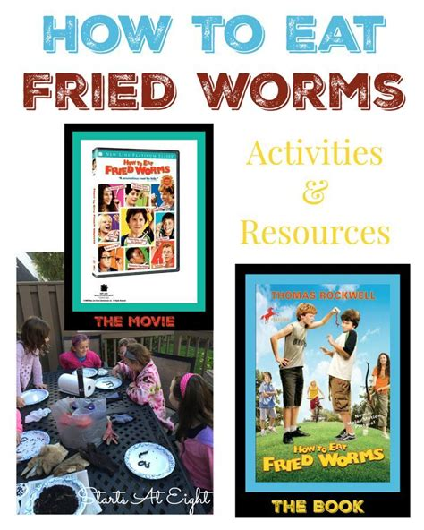 how to eat fried worms book report how to eat fried worms activities resources from starts