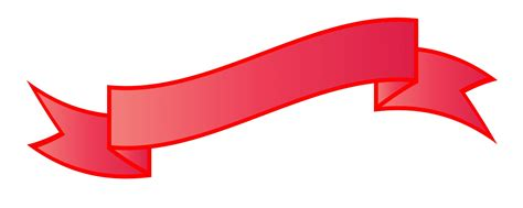 Clipart Of Ribbon ribbon banner clipart free stock photo