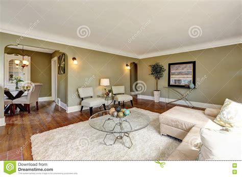 craftsman house living room interior design stock photo