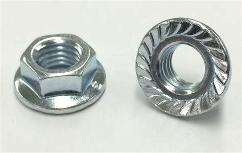 Flange Nut 25 m 7 1 0 hex flange nut class 8 with serrations zinc