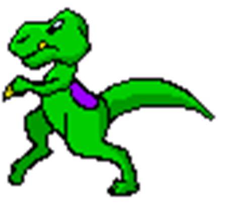 Kaos 3d Dinosaurus T Rex Hitam imagenes animadas de dinosaurios