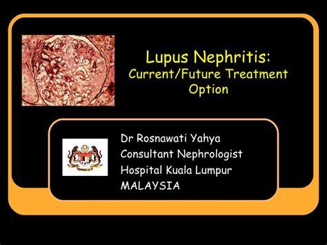 Lupus Nephritis Best Presentation Ppt Sle