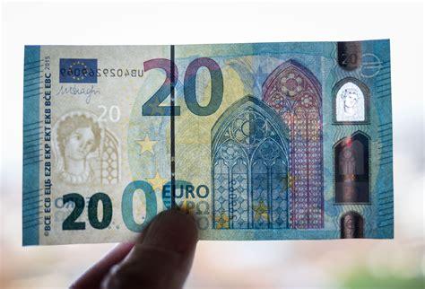 wann kommt der neue 20 schein die europa und eine smaragdzahl der neue 20 schein