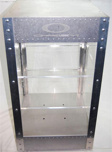 Oakley Display Cabinet   Louisiana Bucket Brigade