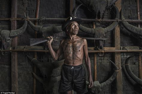 naga tribe tattoo pictures show indian warriors who believe heads are to us
