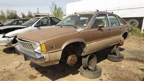 the junkyard junkyard find 1981 chevrolet citation hatchback the about cars