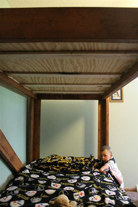 diy bunk beds  small   great love