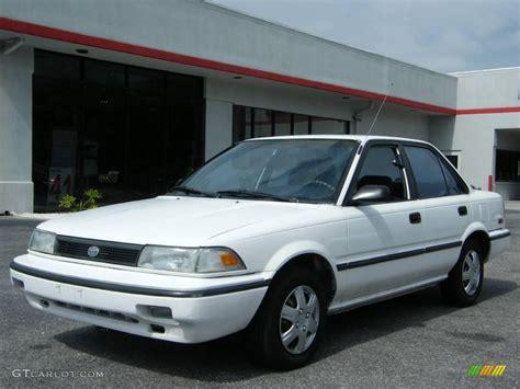 Toyota Corolla 1992 1992 White Toyota Corolla Dx Sedan 19755972