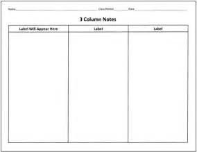 Column notes template 25 language arts graphic organizers for you