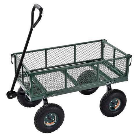 sandusky 34 in l x 18 in w green heavy duty steel crate