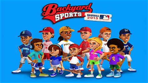 backyard baseball kids backyard sports baseball 2015 backyard sports wiki