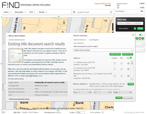 Land Registry Address Search Mapping News By Mapperz