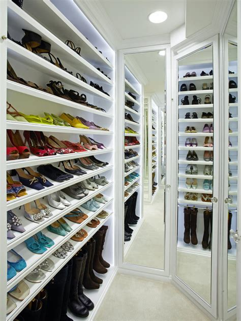 shoe storage closets photos hgtv