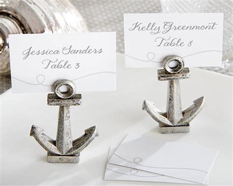 yacht keycard tischdekor tischkartenhalter nautical