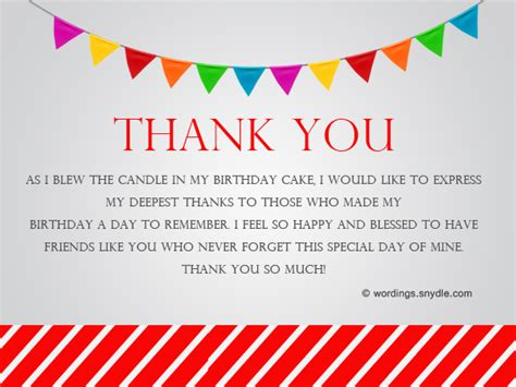 how to say thank you for birthday wishes wordings and messages