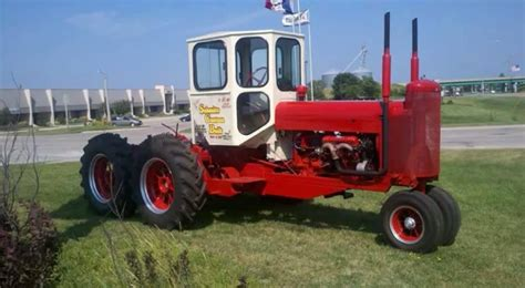 custom built tractor forage chopper  iowa