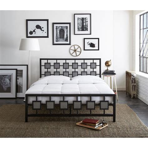 twin bed head rest of the room picture of cherry rest rite sterling black and silver twin platform bed
