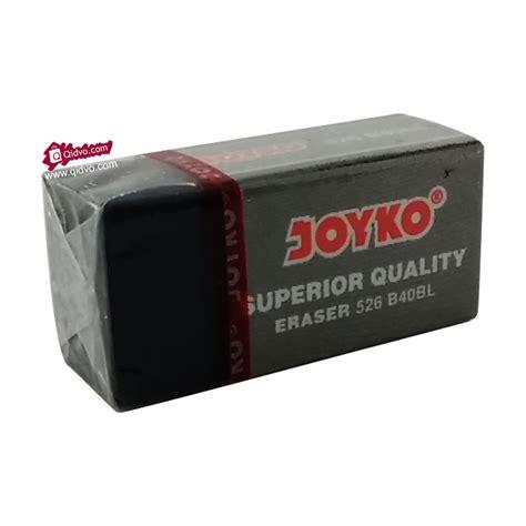 Penghapus Ukuran Kecil penghapus pensil joyko tipe b40bl hitam kecil qidvo