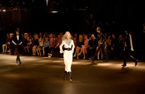 Laurent Shows Timberlake Influence by Laurent Debuts New Collection In Glittering La Show