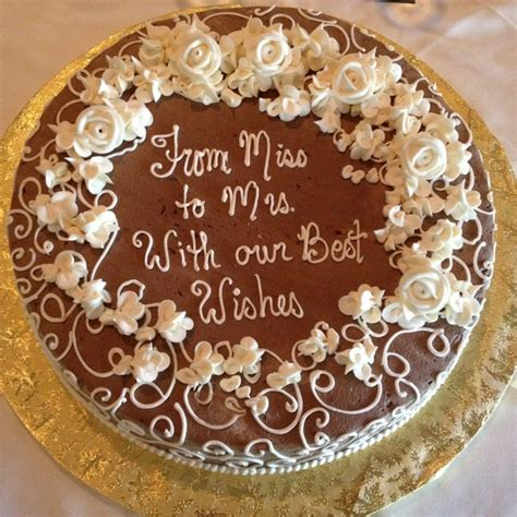 Sayings To Put On Bridal Shower Cakes by Bridal Shower Cake Cakes