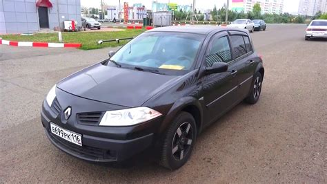 renault megane 2006 2006 renault megane 2 hatchback start up engine and in