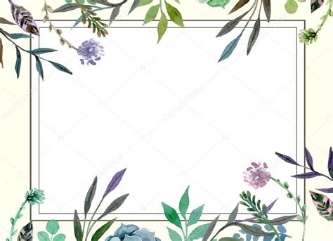 Floral Card Template Free by Floral Border Wedding Invitation Card Template Stock