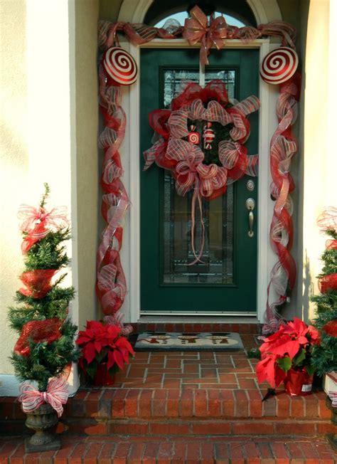 unique christmas front door decorations ideas