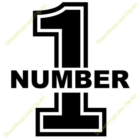 Clip Trigonal No1 your number 1 clipart