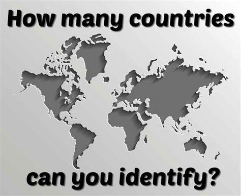 countries   identify    outlines