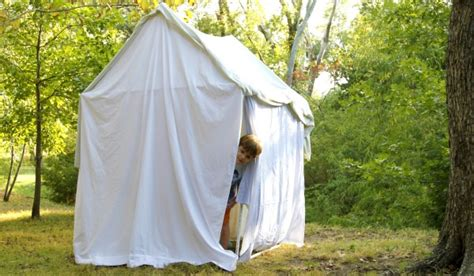 how to build a tent craftionary