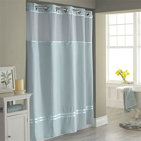 hookless escape fabric shower curtain  shower curtain