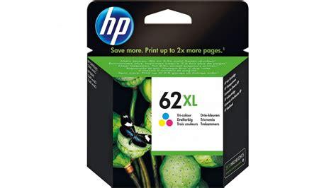 Hp Original 62 Cartridge Color buy hp 62 xl high yield tri colour original ink cartridge