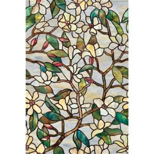artscape 24 in x 36 in summer magnolia decorative window