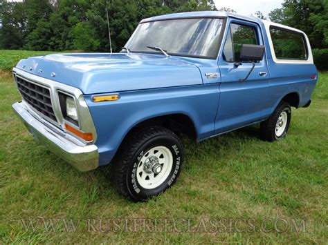 blue bronco 1979 bronco custom 4x4 400 4 speed 79 blue