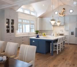 Off White Shaker Kitchen Cabinets Coastal Living Magazine Showhouse Beach Style Kitchen